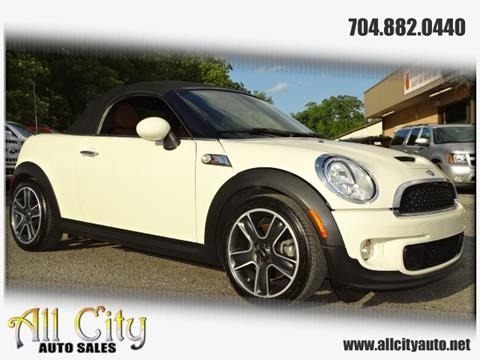 2013 MINI Roadster for sale at All City Auto Sales in Indian Trail NC