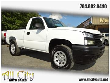 2006 Chevrolet Silverado 1500 for sale at All City Auto Sales in Indian Trail NC
