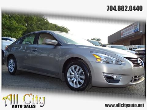 2014 Nissan Altima for sale at All City Auto Sales in Indian Trail NC