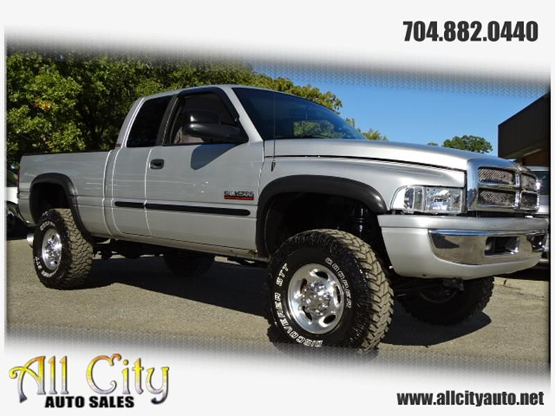 2001 Dodge Ram Pickup 2500 for sale at All City Auto Sales in Indian Trail NC