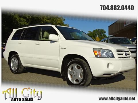 2004 Toyota Highlander for sale at All City Auto Sales in Indian Trail NC