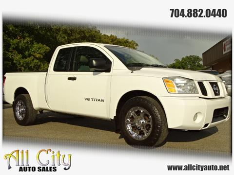2007 Nissan Titan for sale at All City Auto Sales in Indian Trail NC
