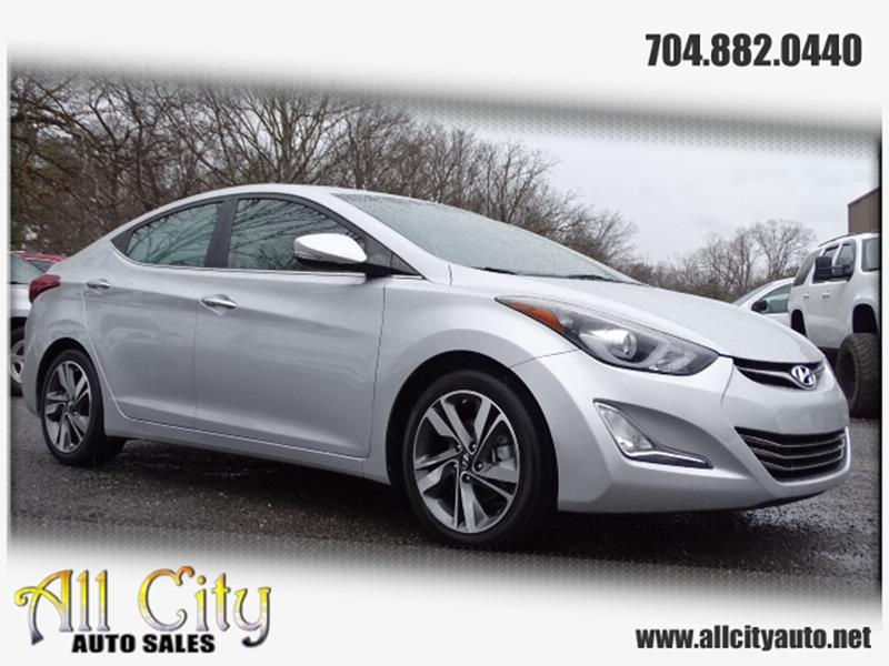 2014 Hyundai Elantra For Sale At All City Auto Sales In Indian Trail NC