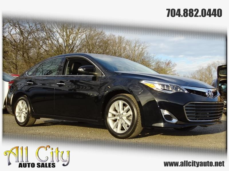 2013 Toyota Avalon For Sale >> 2013 Toyota Avalon Xle In Indian Trail Nc All City Auto Sales