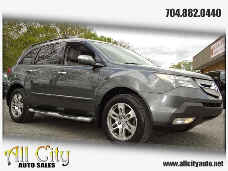 Acura MDX SHAWD In Indian Trail NC All City Auto Sales - Acura mdx for sale