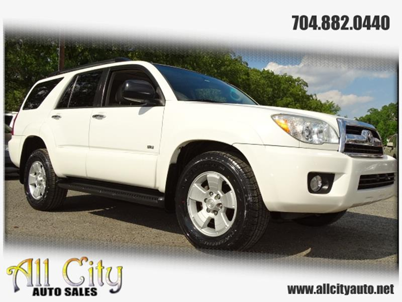 2009 Toyota 4runner Sr5 In Indian Trail Nc All City Auto Sales