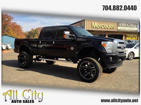 2014 Ford F-250 Super Duty for sale at All City Auto Sales in Indian Trail NC