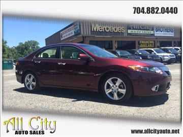 2011 Acura TSX for sale at All City Auto Sales in Indian Trail NC