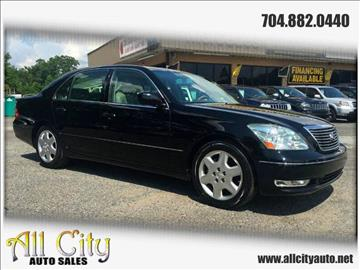 2004 Lexus LS 430 for sale at All City Auto Sales in Indian Trail NC