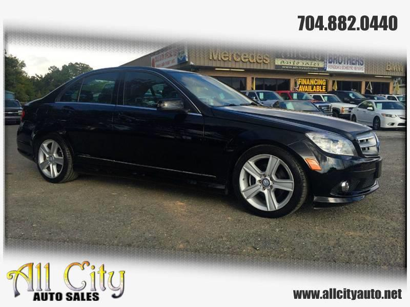 2010 Mercedes-Benz C-Class for sale at All City Auto Sales in Indian Trail NC