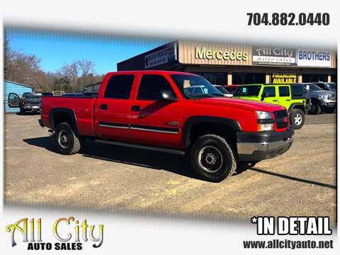 2003 Chevrolet Silverado 2500HD for sale at All City Auto Sales in Indian Trail NC