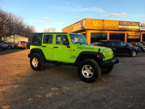 2013 Jeep Wrangler Unlimited for sale at All City Auto Sales in Indian Trail NC