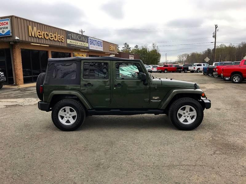 2007 Jeep Wrangler Unlimited for sale at All City Auto Sales in Indian Trail NC