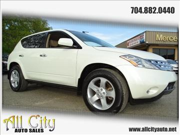 2003 Nissan Murano for sale at All City Auto Sales in Indian Trail NC