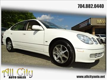 2000 Lexus GS 300 for sale at All City Auto Sales in Indian Trail NC