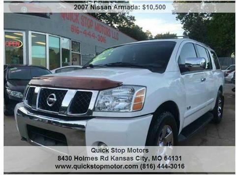 2007 Nissan Armada for sale in Kansas City, MO