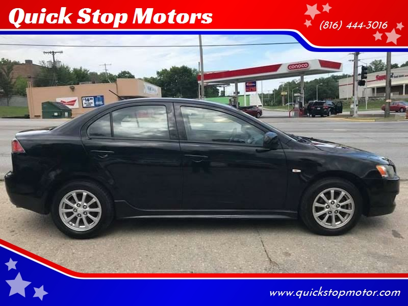 2010 Mitsubishi Lancer For Sale At Quick Stop Motors In Kansas City MO