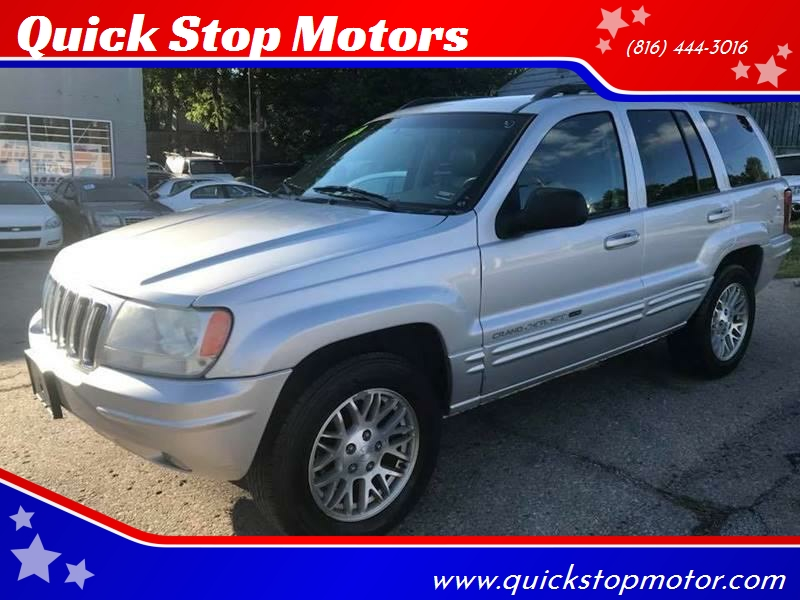 2003 Jeep Grand Cherokee For Sale At Quick Stop Motors In Kansas City MO