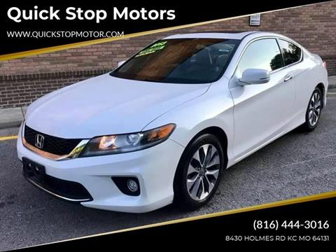 2013 Honda Accord for sale in Kansas City, MO