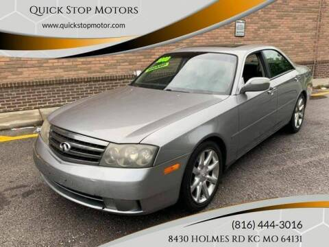 2003 Infiniti M45 for sale at Quick Stop Motors in Kansas City MO