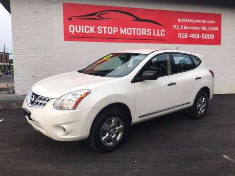 2013 Nissan Rogue for sale at Quick Stop Motors in Kansas City MO