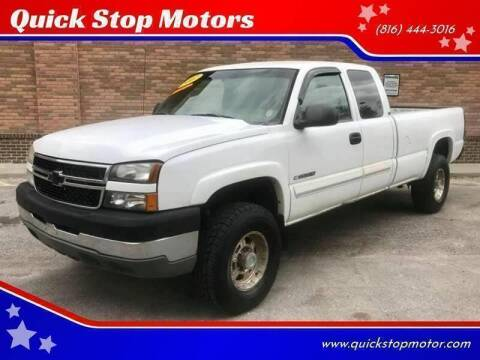 2007 Chevrolet Silverado 2500HD Classic for sale at Quick Stop Motors in Kansas City MO