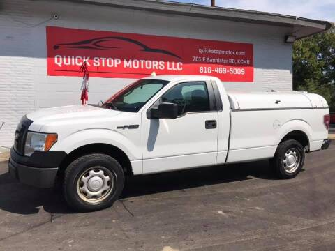 2011 Ford F-150 for sale at Quick Stop Motors in Kansas City MO