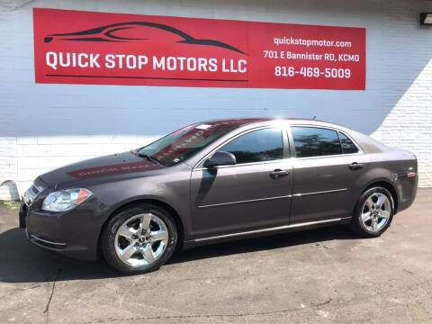 2010 Chevrolet Malibu for sale at Quick Stop Motors in Kansas City MO
