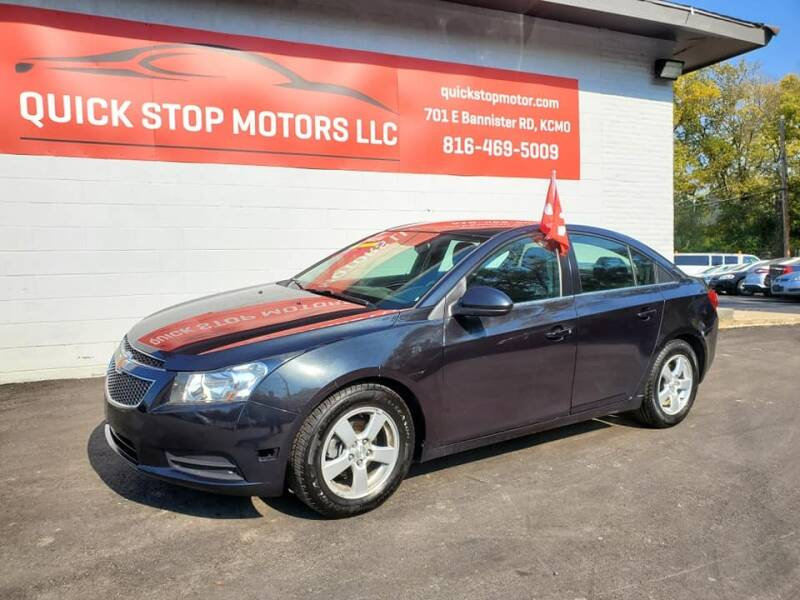 2014 Chevrolet Cruze for sale at Quick Stop Motors in Kansas City MO