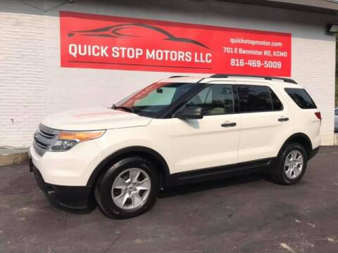 2011 Ford Explorer for sale at Quick Stop Motors in Kansas City MO