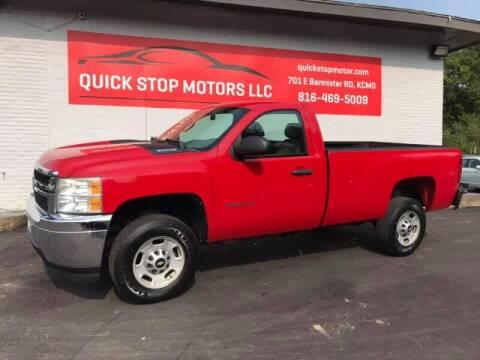 2011 Chevrolet Silverado 2500HD for sale at Quick Stop Motors in Kansas City MO