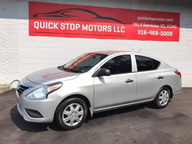 2015 Nissan Versa for sale at Quick Stop Motors in Kansas City MO