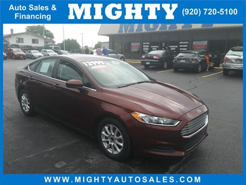 2016 Ford Fusion for sale in Neenah, WI