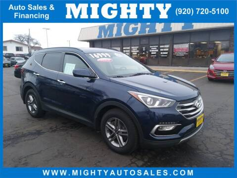 2017 Hyundai Santa Fe Sport 2.4L for sale at Mighty Auto Sales in Neenah WI