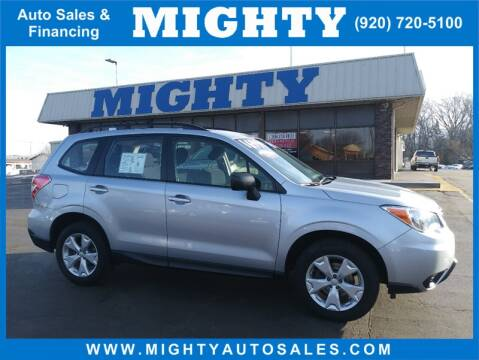 2016 Subaru Forester 2.5i for sale at Mighty Auto Sales in Neenah WI
