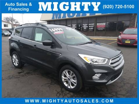 2017 Ford Escape SE for sale at Mighty Auto Sales in Neenah WI