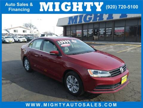 2016 Volkswagen Jetta for sale at Mighty Auto Sales in Neenah WI