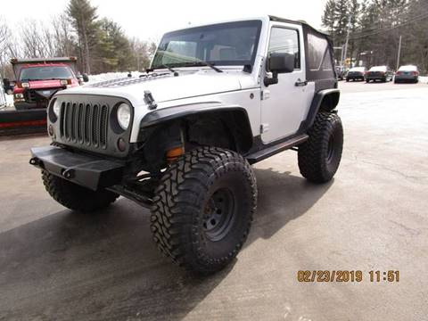 2010 Jeep Wrangler for sale in Goffstown, NH