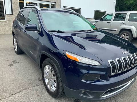 2016 Jeep Cherokee Limited for sale at Bailey Brand in Clarksburg WV