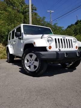 2011 Jeep Wrangler Unlimited Sahara for sale at Bailey Brand in Clarksburg WV