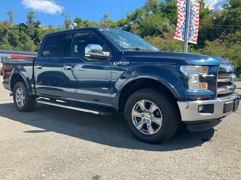 2015 Ford F-150 Lariat for sale at Bailey Brand in Clarksburg WV