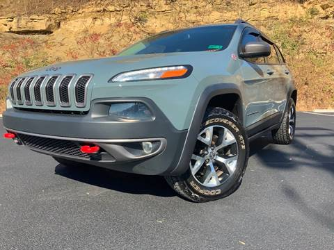 2014 Jeep Cherokee Trailhawk for sale at Bailey Brand in Clarksburg WV