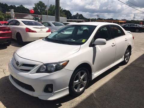 2013 Toyota Corolla for sale in Acworth, GA