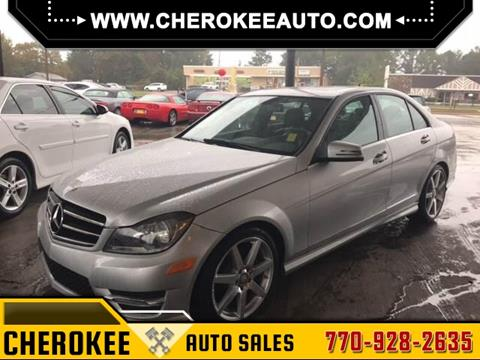 2014 Mercedes-Benz C-Class for sale in Acworth, GA