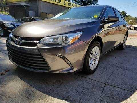 2016 Toyota Camry for sale in Acworth, GA