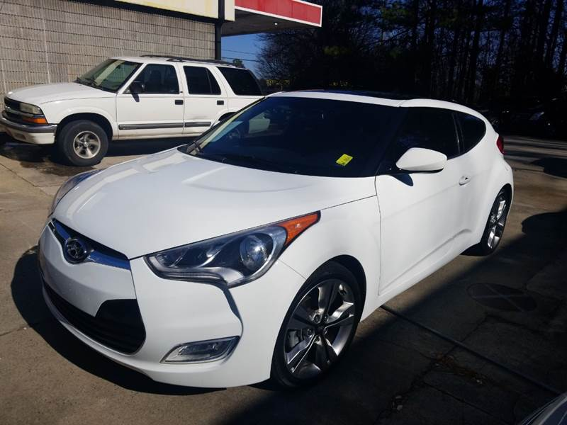 2016 Hyundai Veloster 3dr Coupe Dct W Black Seats In Acworth Ga