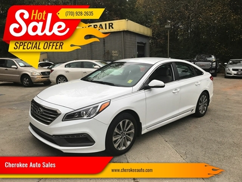 2017 Hyundai Sonata for sale in Acworth, GA