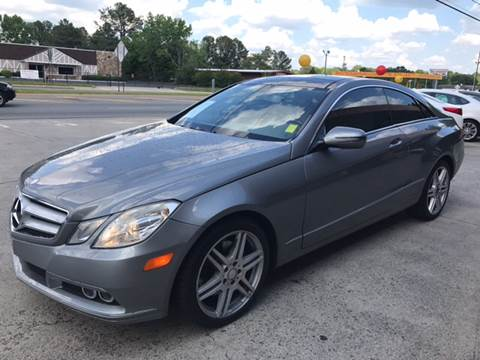 2010 Mercedes-Benz E-Class for sale in Acworth, GA