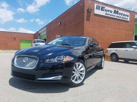 2013 Jaguar XF for sale at Euro Motors LLC in Raleigh NC