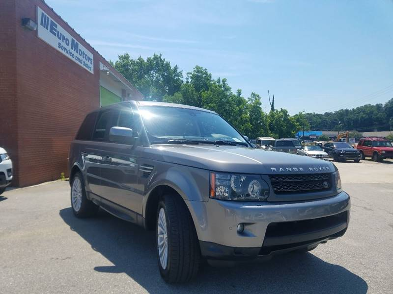 2010 Land Rover Range Rover Sport for sale at Euro Motors LLC in Raleigh NC